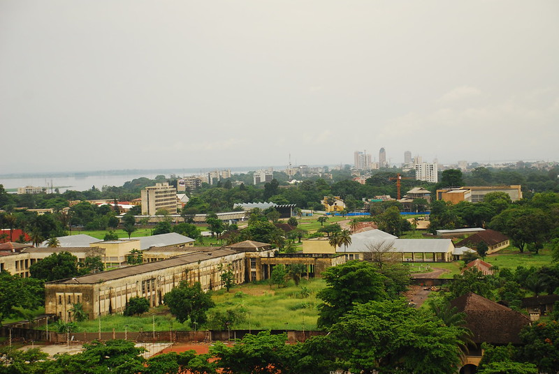 Kinshasa from the 16th floor