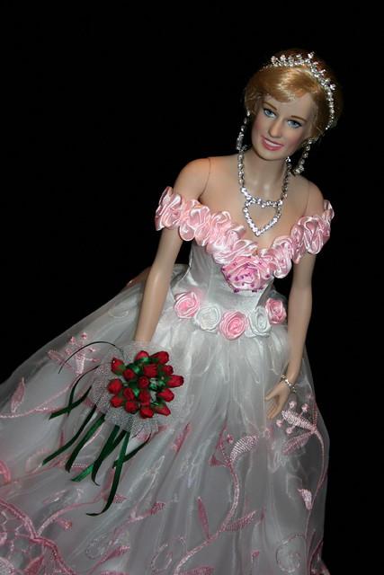 Princess Diana Rose Embroidered Organza Dress Flickr
