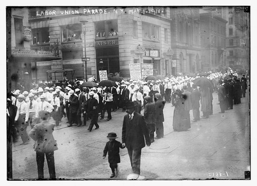 Labor union parade, NY., May 1, 1911  (LOC)