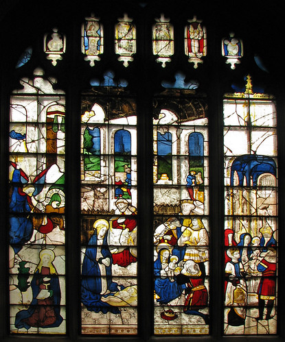 Nativity window at Fairford