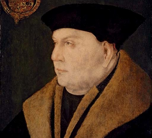 Detail of portrait of Thomas Cromwell