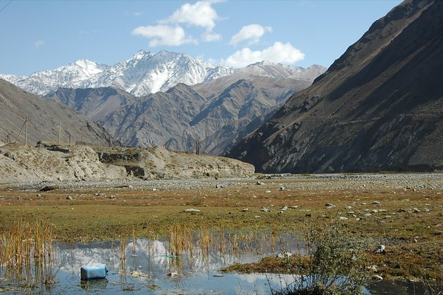 Mountain Reflections - Osh to Sary Tash, Kyrgyzstan