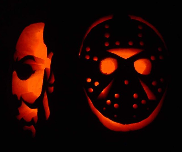 Michael myers jason voorhees pumpkin flickr photo
