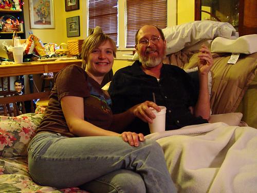 Erica and David