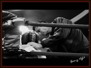 Black N White~In The Boxing Ring~After Using Picnik