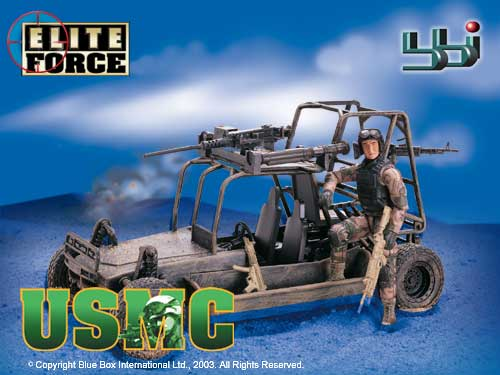 USMC ARMY Chenowth 'dune buggy' (FAV LSV DPV) 'Special Forces' (1:12 model/toy)