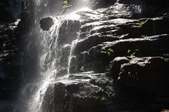 Detail of Cascade at the Valley of the Waters