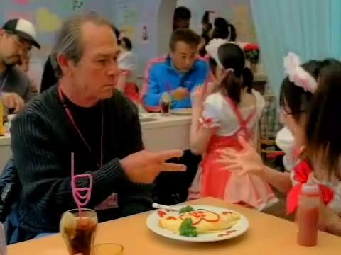 080205 - 好萊塢男星「湯米李瓊斯」的日本秋葉原『女僕咖啡』初體驗影片正式首播 (2/3)