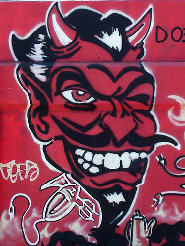 Devil close up