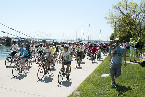 3rd Annual Ride to Recharge, DuSable Harbor, 2011.  © Mary Lanigan Russo