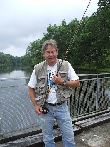 Dad in Pine River