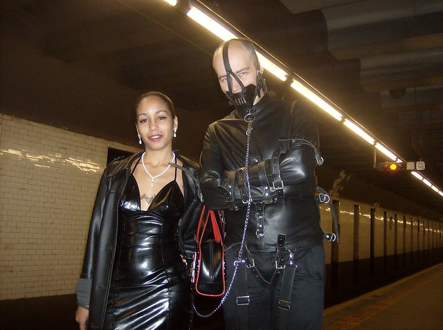 leather slave: