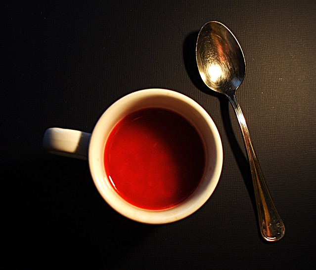 If coffee were red, Fujifilm FinePix F455