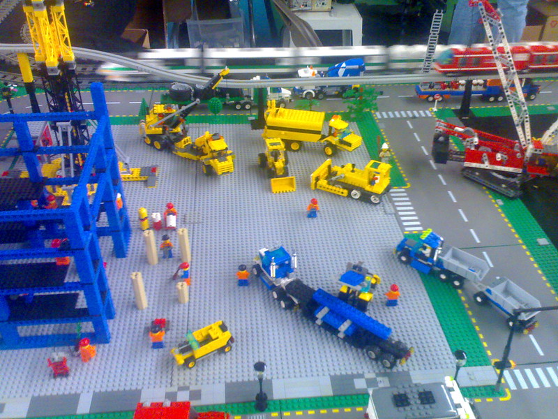 Lego Train Speeds By