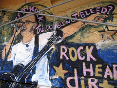Rock hearts dirt city
