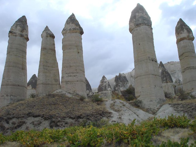Goreme, Turkey (penis-shaped rocks!) Known as 'Lovers' Valley'!!!!
