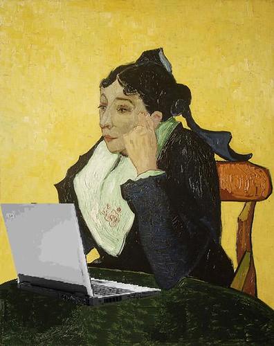 Madame Joseph-Michel Blogs, after van Gogh