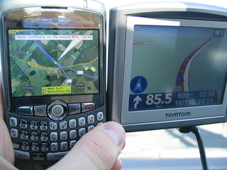 Blackberry vs Tomtom