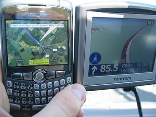 Blackberry vs Tomtom