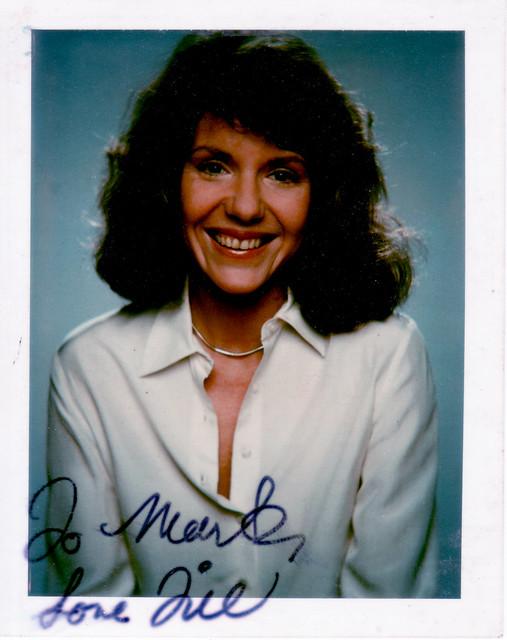 Autographed Jill Clayburgh Polaroid