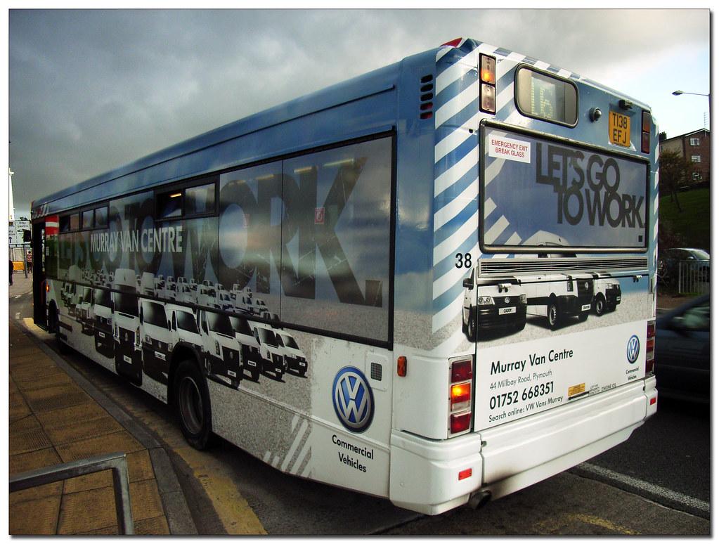 Plymouth Citybus 038 T138EFJ