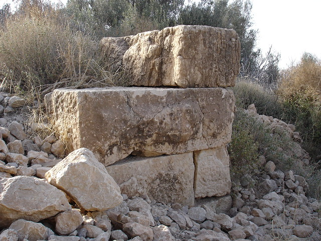 Remains of an ancient fort in Gacha, Ah Frah بقايا قلعة أثرية ببني فرح