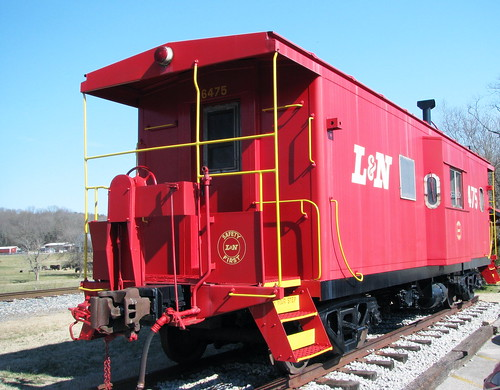 Thompson's Station L&N Caboose