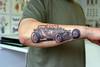 На моей правой руке есть свободных 13 см, посоветуйте какую тату нарисовать? (в стиле авто) .