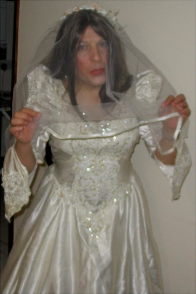 Lickr photos trannys in wedding dresses