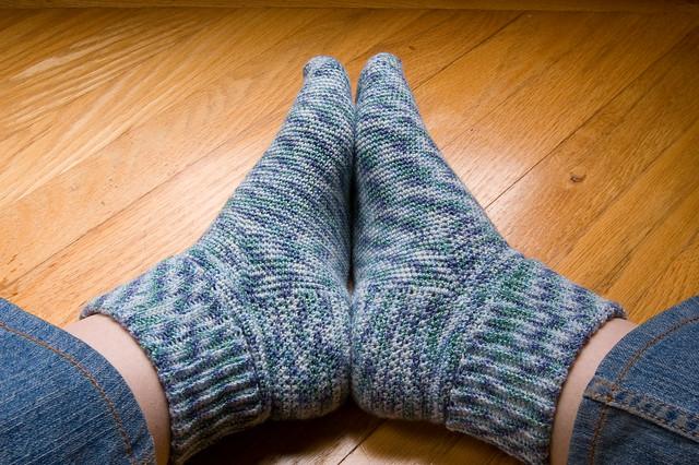 Basic crocheted socks - complete Flickr - Photo Sharing!