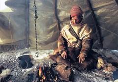 Sami Man, Laponia, Finlandia