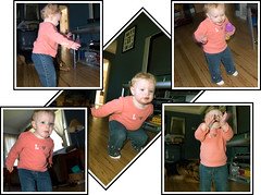 Baby hears music, Dance Dance