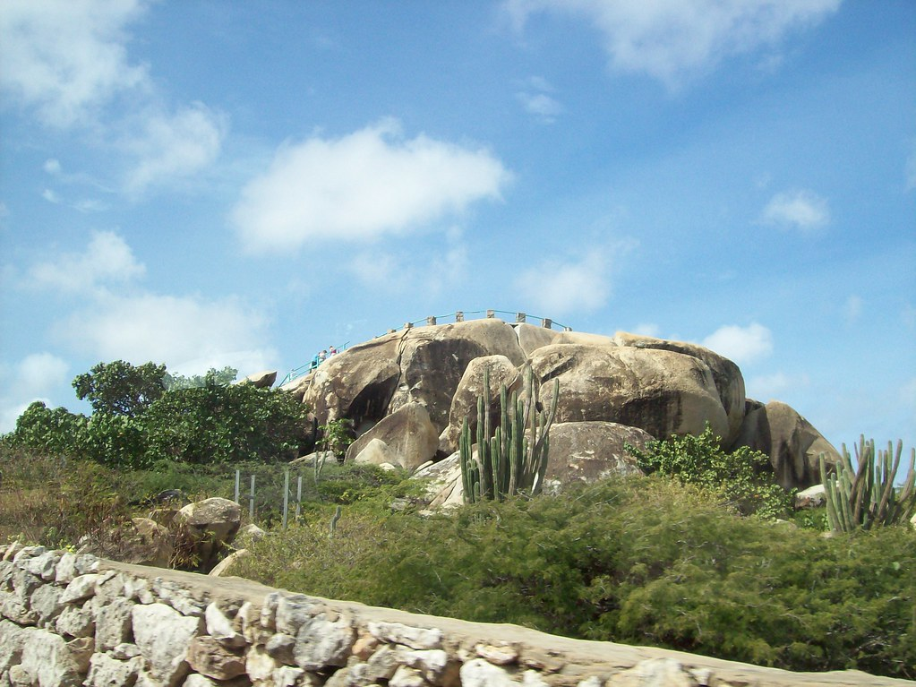 Aruba - Rock Formation