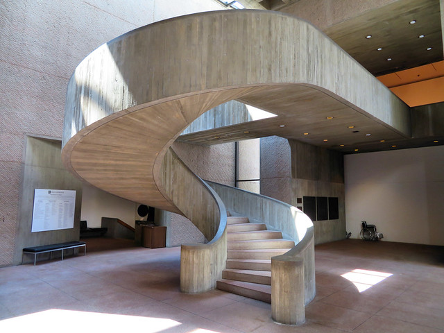 Central Staircase, Everson Museum of Art, Syracuse, New York