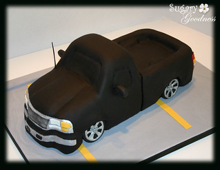 Pick-up Truck - Grooms Cake