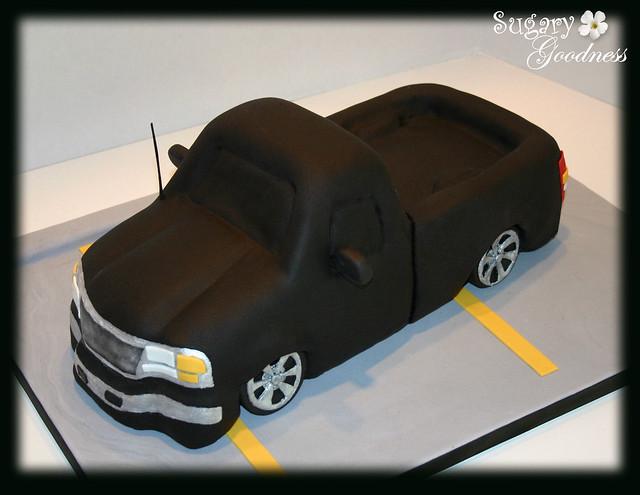 pickup truck cake pan