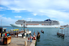 port, ferry, vehicle, ship, sea, harbor, vacation, passenger ship, ocean liner, cruise ship, watercraft, coast,