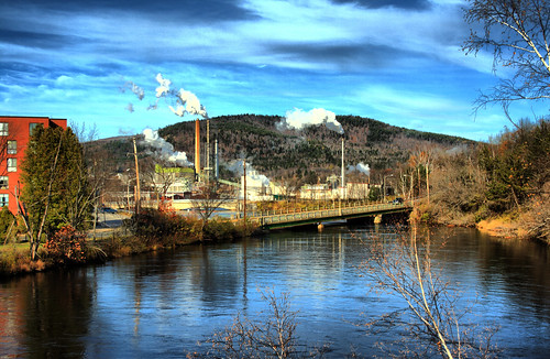 New Page Mill in Rumford