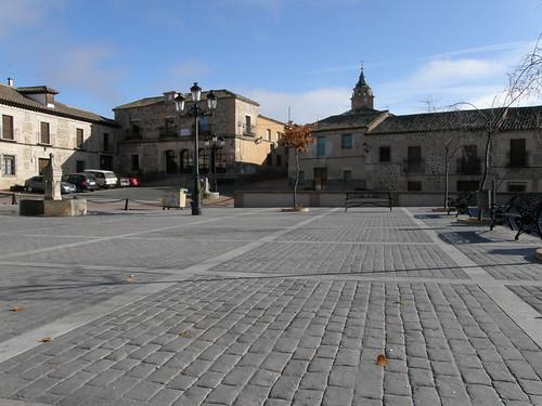 Ayuntamiento y la plaza