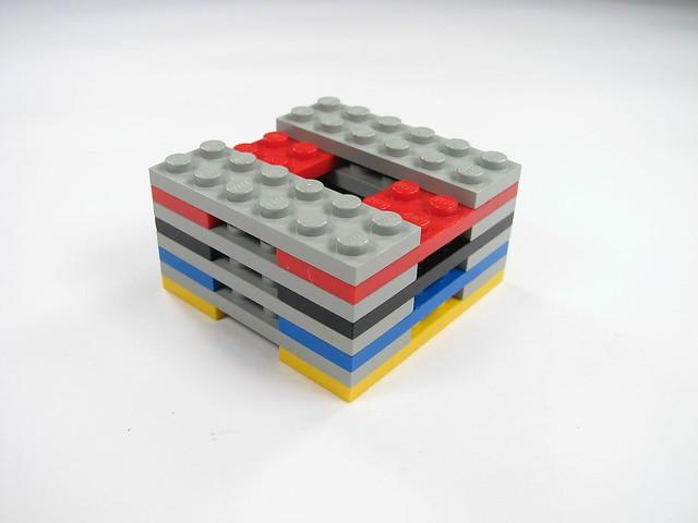 Flat Building Lego