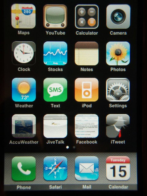 iphone home screen layout my new iphone home screen layout flickr photo 15300