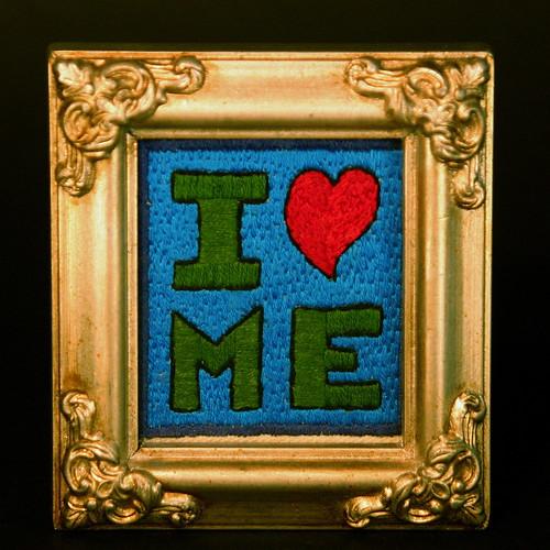 I Heart Me (framed)