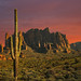 Superstition Mountains by Dusty Pixel
