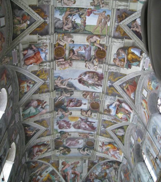 Michael angelo ceiling tiles