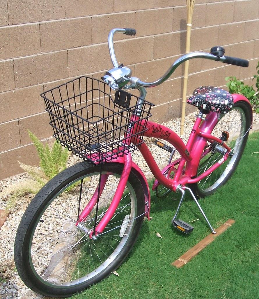 Hello Kitty Bicycle Basket Hello Kitty Bicycle Basket