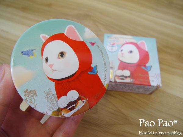 Miss Hana 花娜小姐 X CHOO CHOO CAT 淨潤無瑕金屬氣墊粉餅