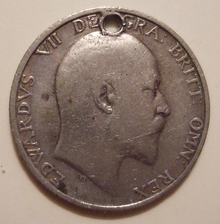 GREAT BRITAIN, EDWARD VII ---ONE SHILLING 1906 b