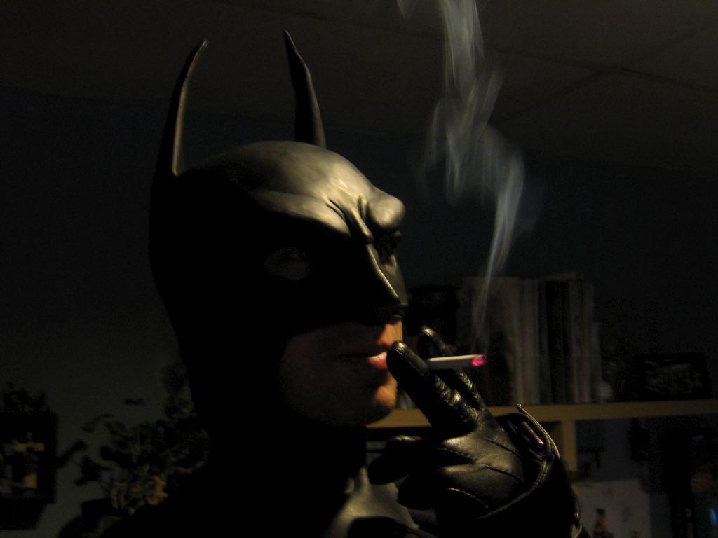 Cat Smoking Cigar Scene In Funny Movie Scary Movie