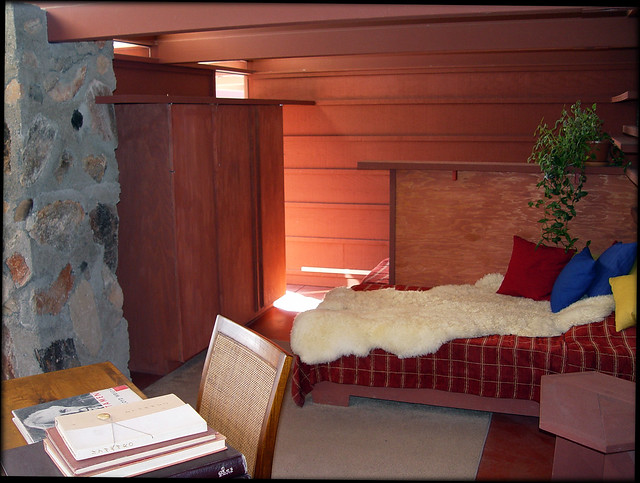 Taliesin West, Bedroom