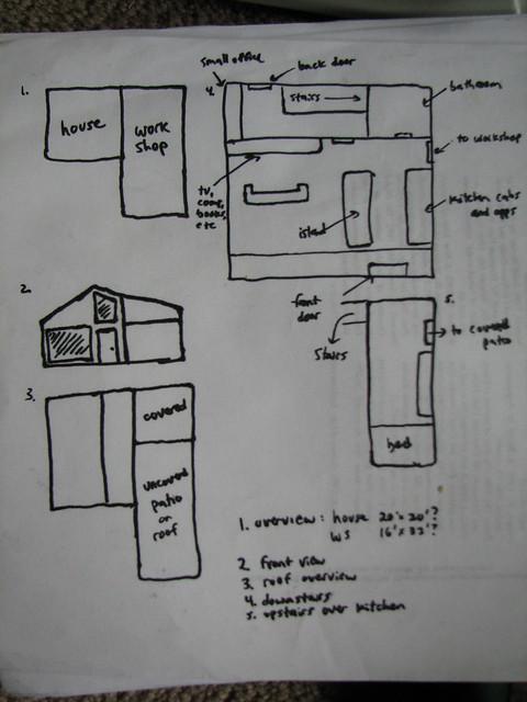 Primitive house plans flickr photo sharing for Primitive cabin plans